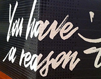 YOU HAVE A REASON TO SMILE!