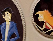 Couple's frame