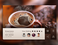 Coffee Widget