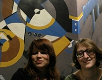 Mural Café de Boulevard