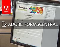 Adobe FormsCentral UX Story