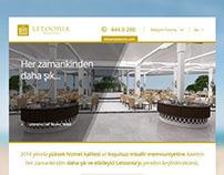 Letoonia Facebook Welcome Tab Design