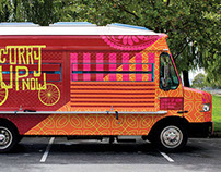 Curry Up Now Branding, Restaurant & Food Truck Design