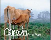 Maxin-Free font