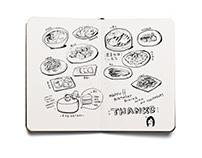 Food Doodling