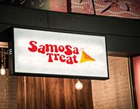Samosa Treat | Samosa Eatery & Cafe Branding Design