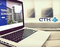ÇTK İnşaat Responsive Web Site
