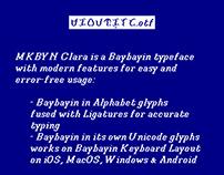 MKBYN Clara — A Baybayin Typeface