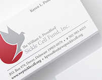 Proudford Sickle Cell Logo & Sationery