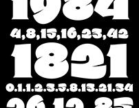 números font