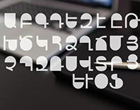 Armenian Font Typography
