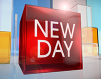 "CNN's ""New Day"" Package graphics"