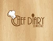 Chef Diary Brand Identity Design