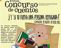 Concurso de cuento infantil sobre refugiados politicos