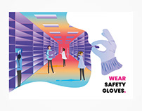 Golden rules - Safety posters