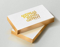 Andreas Pollok Business Cards