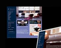 St. Paul website concept