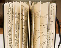 Lettering Moleskine's Japanese Album Project