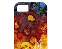 Ink Drawing iPhone Cases Collection 1