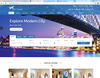 IBN Travel - HTML3 and CSS3 Responsive Template