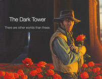The Dark Tower - Responsive One-Page Website Mockup