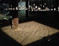Installation - ILTS13 Gold Monstrous Geometries