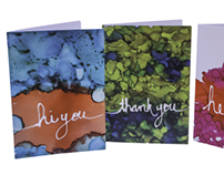 Ink Drawing Greeting Cards Series 1&2