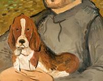 Mi perro y yo mismo