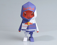 [ Red Bull ] Paper toy of Boogiehood