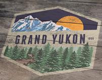 """Grand Yukon"" Logo + Branding"