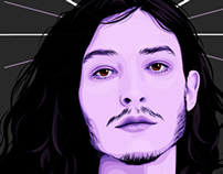 Portrait of Ezra Miller