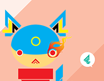 Cat vector prototype: Inuvona