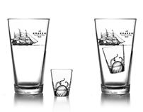 Kraken Black Spiced Rum - Promotional Pieces