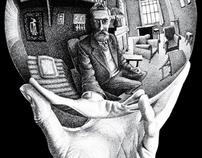 Cartazes | O Mundo Mágico de Escher