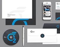 O2Feel Bikes Logo & Branding