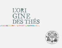 """Mariage frères : Campagne """"l'Origine des thés"""""""