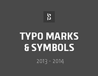Typo Marks & Symbols 2013 - 2014