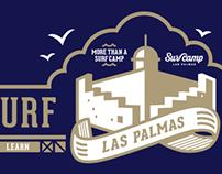 SurfCamp Las Palmas Illustrations