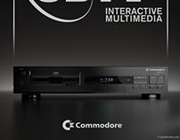 Commodore Amiga CDTV product shot in 3D