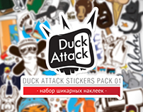 Duck Attack sticker pack