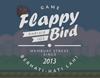 Flappy Bird Typography