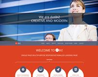 dotBIZ - WordPress Responsive OnePage Parallax