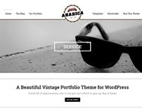 WP Arabica Responsive Creative WordPress Theme