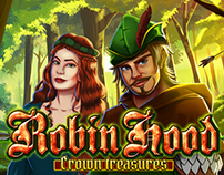 ROBIN HOOD crown treasures