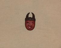 Brooches/Masks