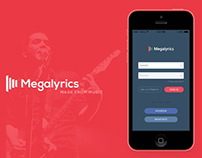 Megalyrics - Music Mobile App