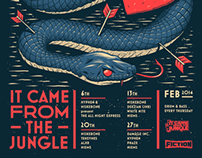 It Came From the Jungle - February