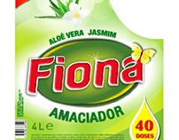 Mercado Angolano - Rótulos produtos de limpeza Fiona