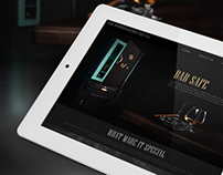 Bar Safe website concept design