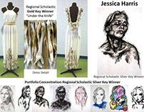 Mid Carolinas Regional Scholastic Awards Winning Art